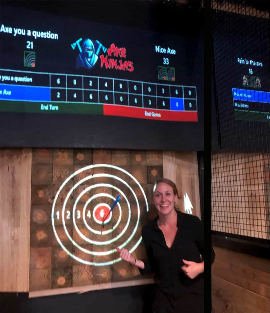 Dallas Fort Worth Axe Throwing