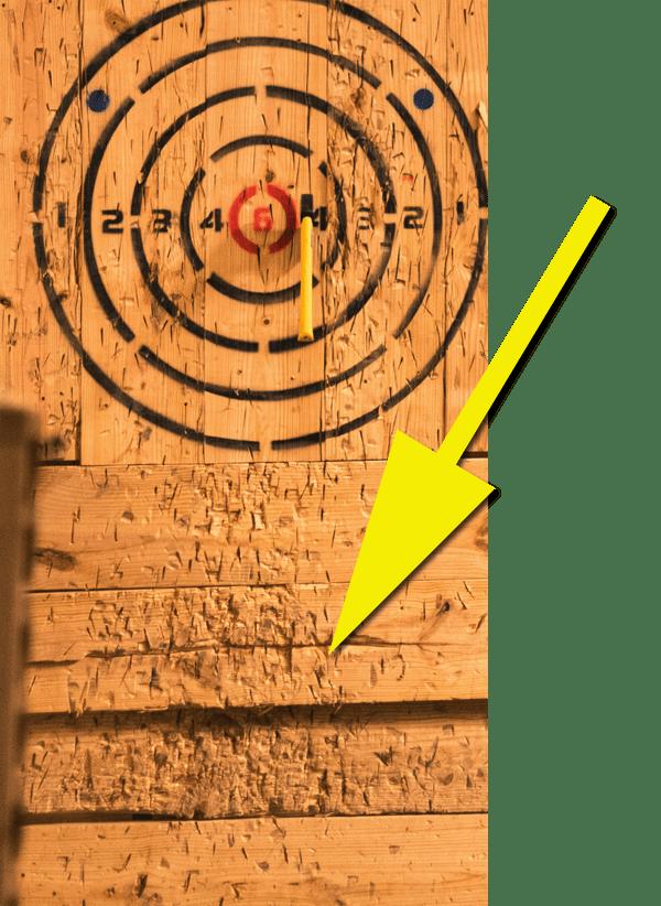 Standard axe lanes chop wood